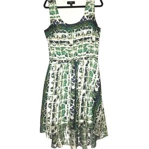 Mossimo Green High Low Womens Dress Large